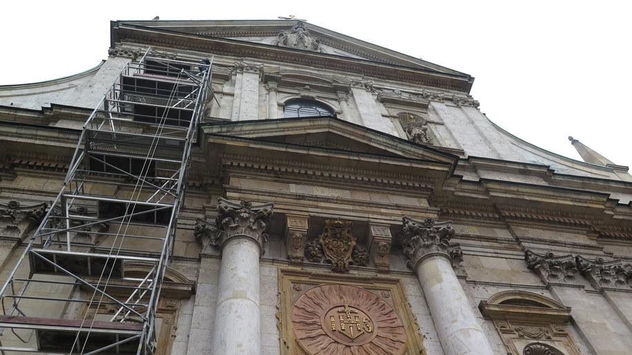 Wszyskie figury na kościele zostaną teraz sprawdzone /Dominika Panek  /RMF FM