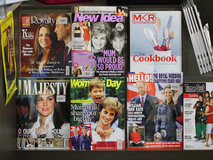 Wszystkie gazety zdominował temat ślubu Kate i Williama  /Getty Images/Flash Press Media