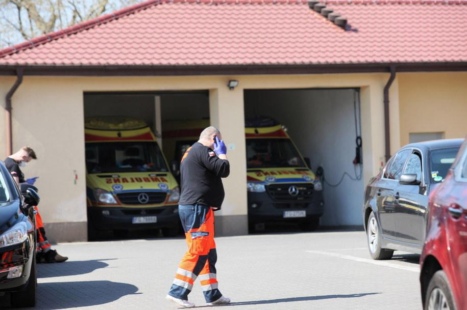 Wszystkie karetki pogotowia w Gorzowie Wielkopolskim zostały wyłączone z akcji ratunkowych / Lech Muszyński    /PAP