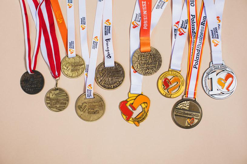 Wszystkie medale Poland Business Run /materiały prasowe