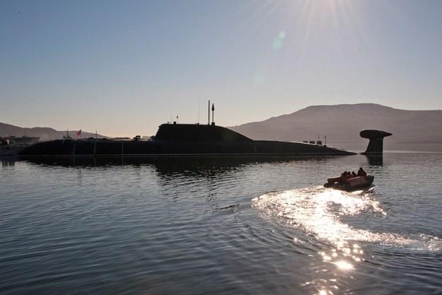 Wszystkie uderzeniowe, atomowe okręty podwodne typu Szczuka B/Akula we Flocie Oceanu Spokojnego są niesprawne. Fot. function.mil.ru /materiały prasowe