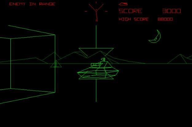 """Wszystko w temacie serious games zaczęło się od """"Battlezone"""" od Atari /Internet"""