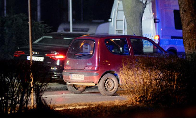 Wszystko wskazuje na to, że Audi jechało znacznie szybciej niż deklarowane 50 km/h /Łukasz Kalinowski /East News