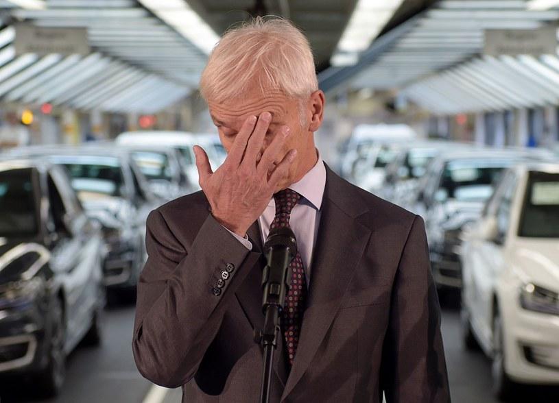 Wszystko zaczęło się od Volkswagena... /AFP