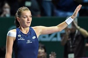 WTA Finals. Agnieszka Radwańska - Petra Kvitova 6:2, 4:6, 6:3