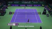 WTA Finals: Radwańska przegrała z Szarapową