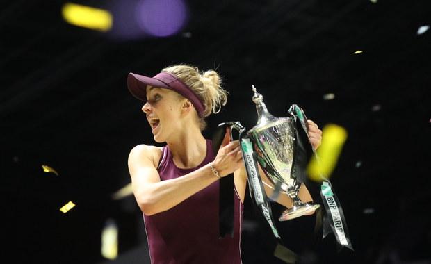 WTA Finals: Triumf Switoliny! W finale pokonała Stephens