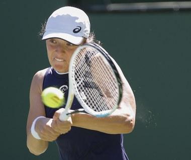 WTA Indian Wells. Iga Świątek i Bethanie Mattek-Sands nie sprawiły niespodzianki
