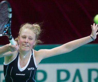 WTA Katowice: Fręch odpadła, została tylko Radwańska