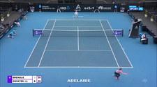 WTA w Adelajdzie: Iga Świątek - Madison Brengle. Skrót meczu (POLSAT SPORT). Wideo