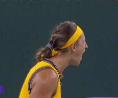WTA w Indian Wells. Azarenka wygrała z Jeleną Ostapenko 3:6, 6:3, 7:5
