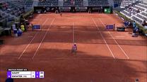 WTA w Rzymie. Coco Gauff - Iga Świątek 7:6 (3), 6:3. Skrót meczu. Wideo