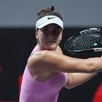 WTA w Strasburgu. Wycofała się najwyżej rozstawiona Andreescu