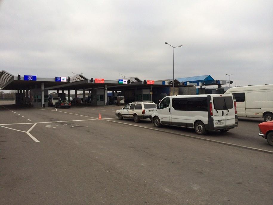 Wtorek na przejściu granicznym w Dorohusku /Krzysztof Kot /RMF FM