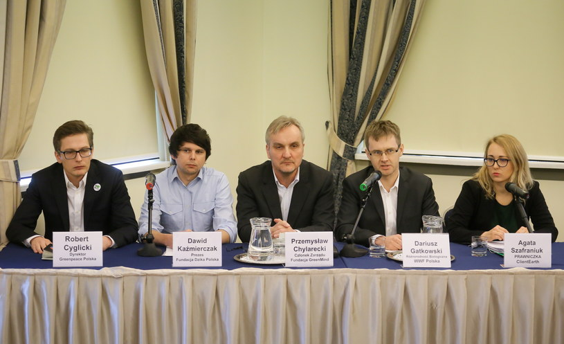 Wtorkowa konferencja organizacji ekologów /Paweł Supernak /PAP
