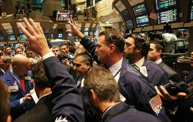 Wtorkowa sesja na Wall Street przyniosła odreagowanie ostatnich spadków /AFP