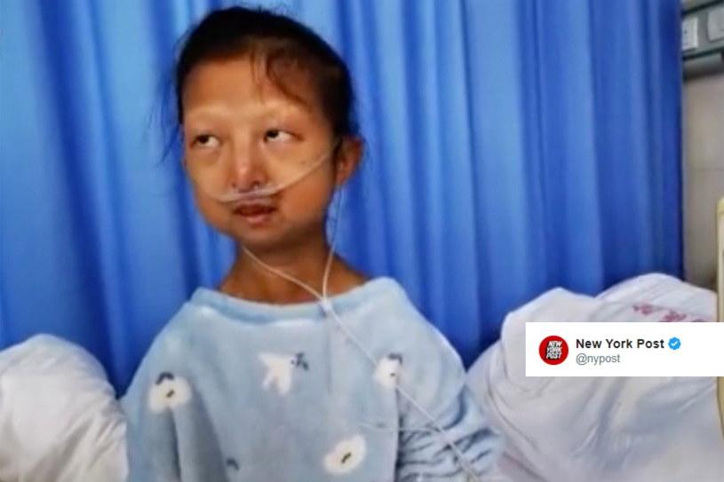 Wu Huayan w szpitalu /Twitter /Twitter