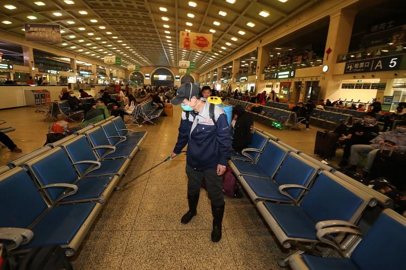 Wuhan to centrum epidemii /AFP