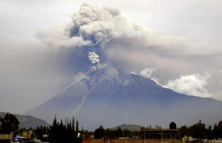 Wulkan Chimborazo /AFP