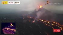 Wulkan Cumbre Vieja wciąż aktywny. Nic nie wskazuje, że szybko nastąpi koniec wyrzucania lawy
