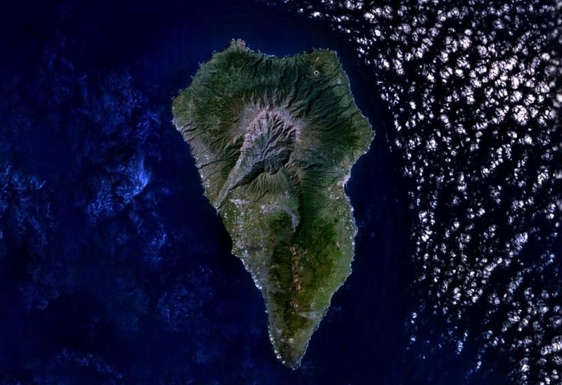 Wulkan Cumbre Vieja /NASA