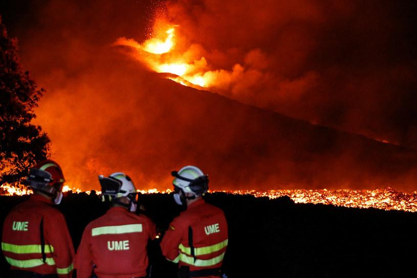 Wulkan Cumbre Vieja /LUISMI ORTIZ/AFP/East News /East News