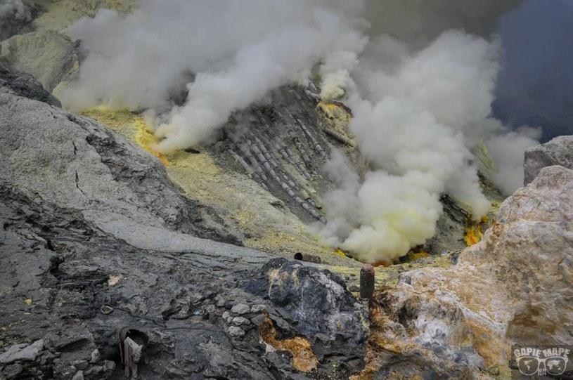 Wulkan Ijen, Jawa /Informacja prasowa