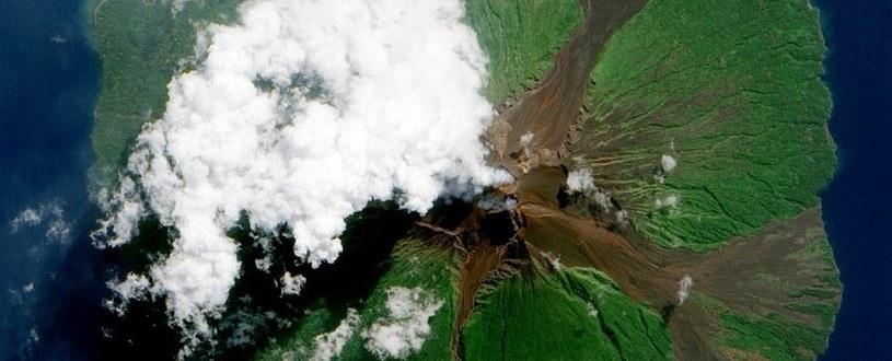 Wulkan Manam /materiały prasowe
