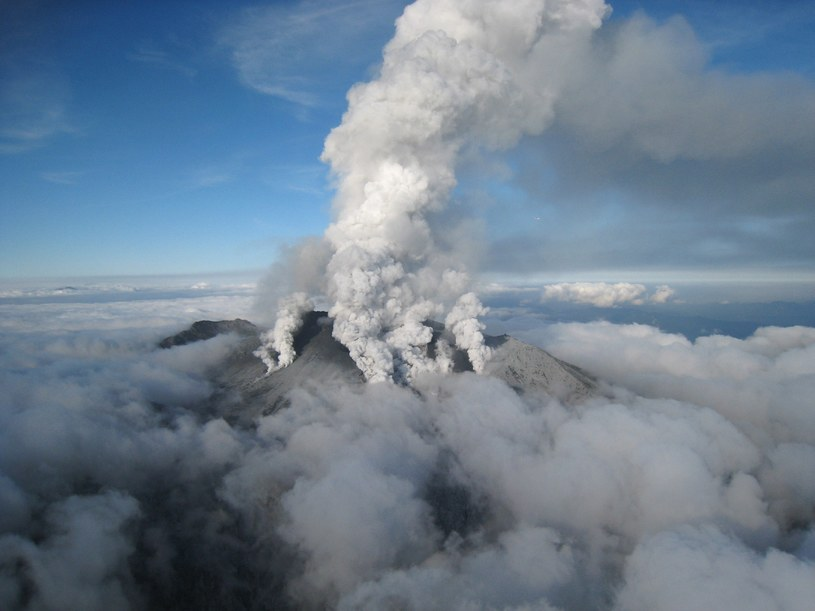 Wulkan Ontake /AFP