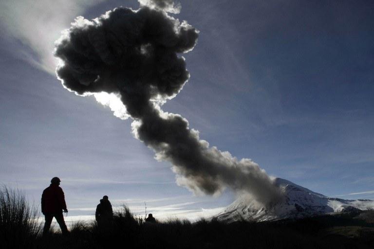 Wulkan Popocatepetl /AFP