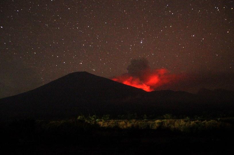 Wulkan Rinjani na wyspie Lombok /AFP