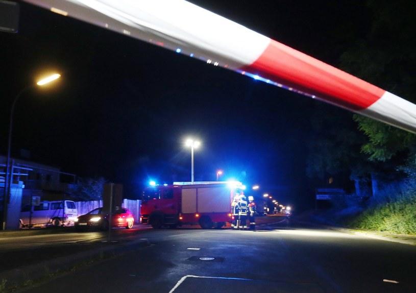 Wurzburg: Tam doszło do ataku /Karl-Josef Hildenbrand /PAP/EPA