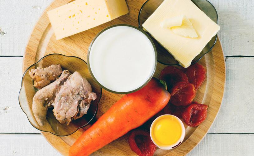 Wybieraj produkty zawierające witaminę A /123RF/PICSEL