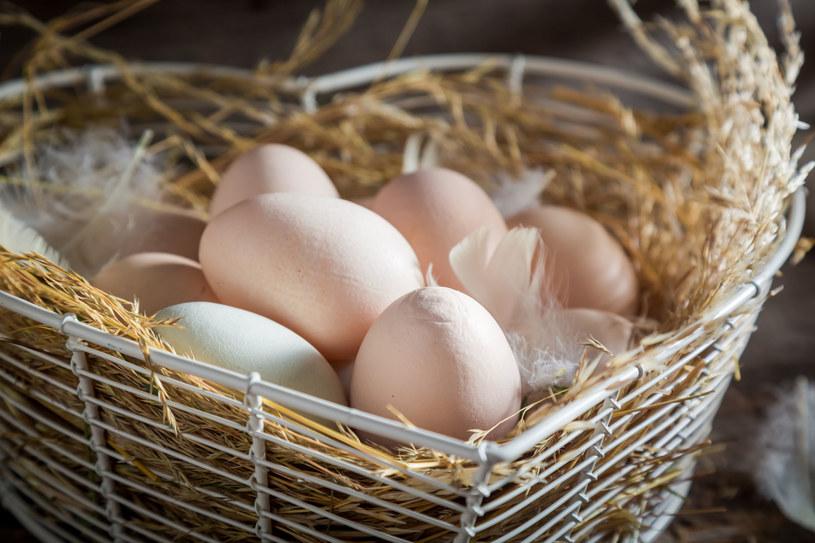 Wybierając jajka ekologiczne mamy pewność, że są najlepszej jakości /123RF/PICSEL