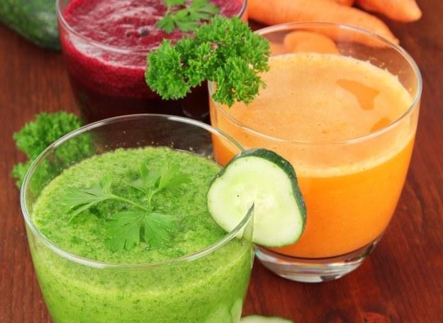 Wybierz swój ulubiony koktajl warzywny! /123RF/PICSEL
