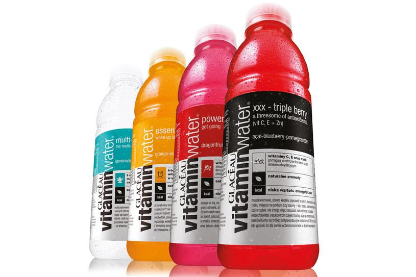 Wybierz swój ulubiony wariant Glacéau vitaminwater® /materiały prasowe
