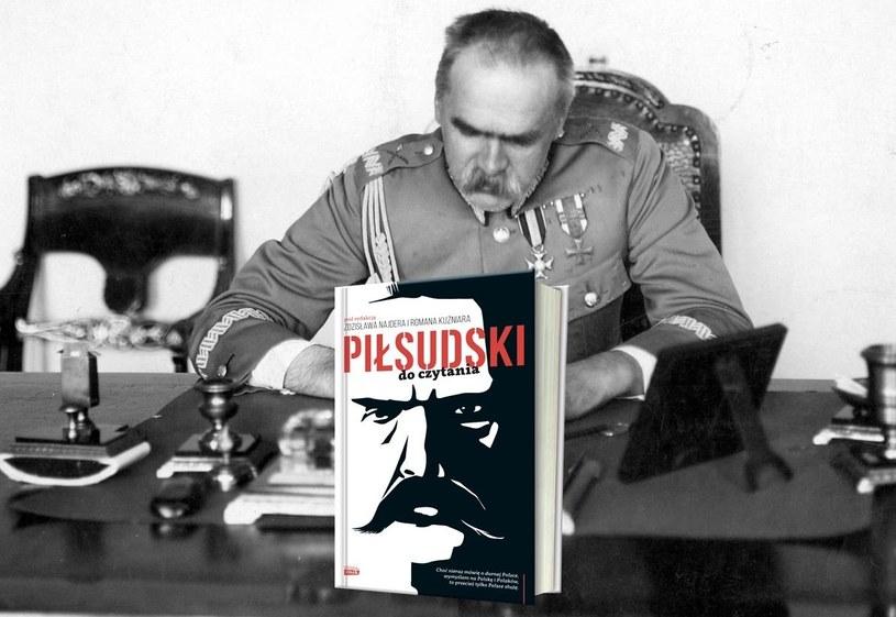 """Wybór najlepszych tekstów Marszałka obejmujący ponad trzydzieści lat jego życia i działalności politycznej w książce """"Piłsudski do czytania"""". Kliknij i sprawdź! /INTERIA.PL/materiały prasowe"""