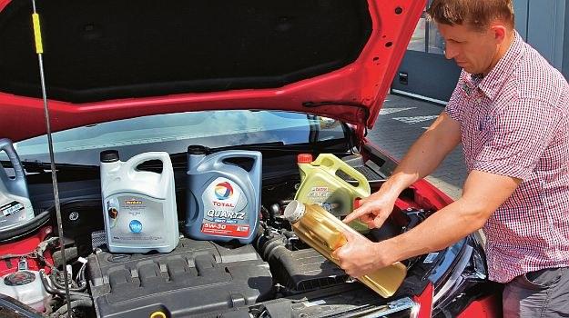 wybór oleju /Motor