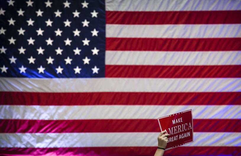 Wyborcy Donalda Trumpa chcą odzyskać wiarę w amerykański sen /AFP