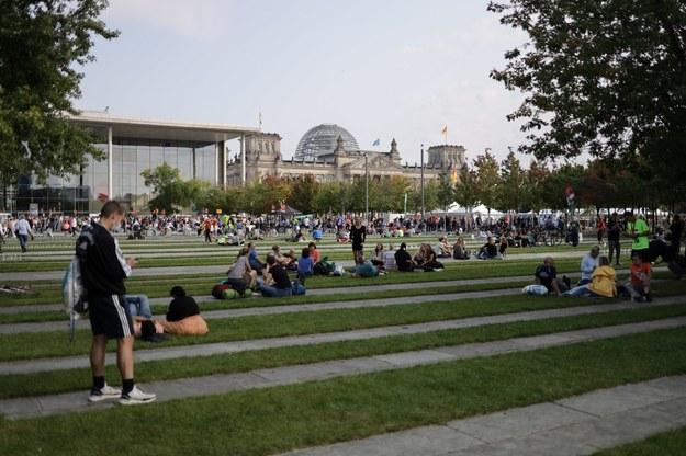 Wyborcza niedziela w Berlinie /Michał Dukaczewski /RMF FM
