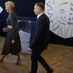 Wybory 2019: Agata Duda zadała szyku! Co za kreacja!