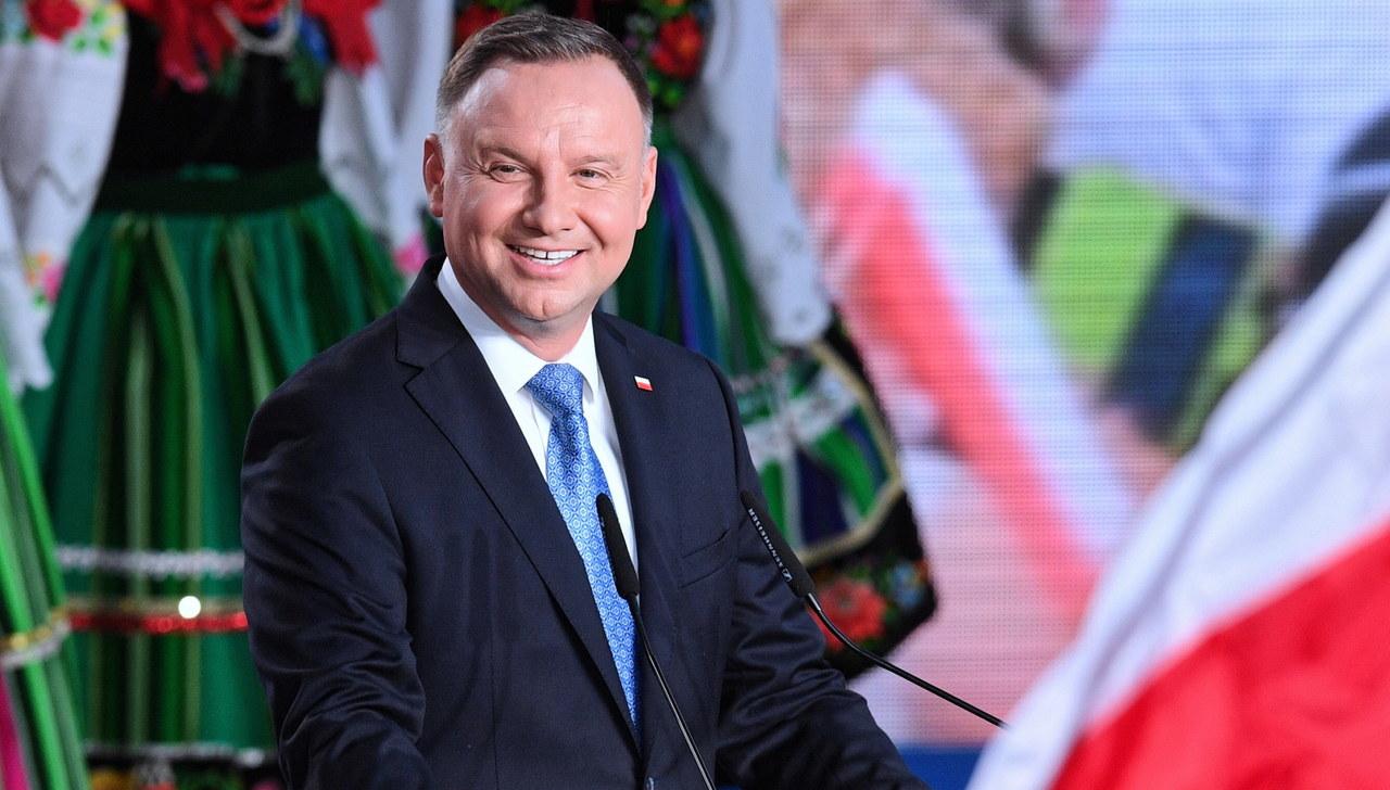 Wybory 2020. Andrzej Duda: Wynik sprzed pięciu lat pobity o kilka długości