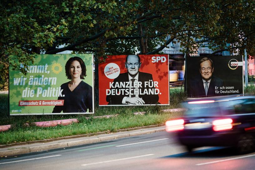 Wybory do Bundestagu /Clemens Bilan /PAP/EPA