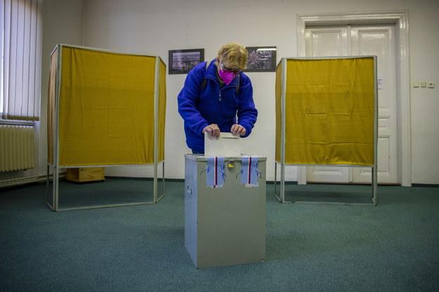 Wybory do Izby Poselskiej parlamentu Republiki Czech /Martin Divisek /PAP