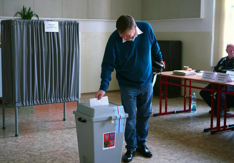 Wybory do Izby Poselskiej w Czechach /Xinhua News/East News /East News