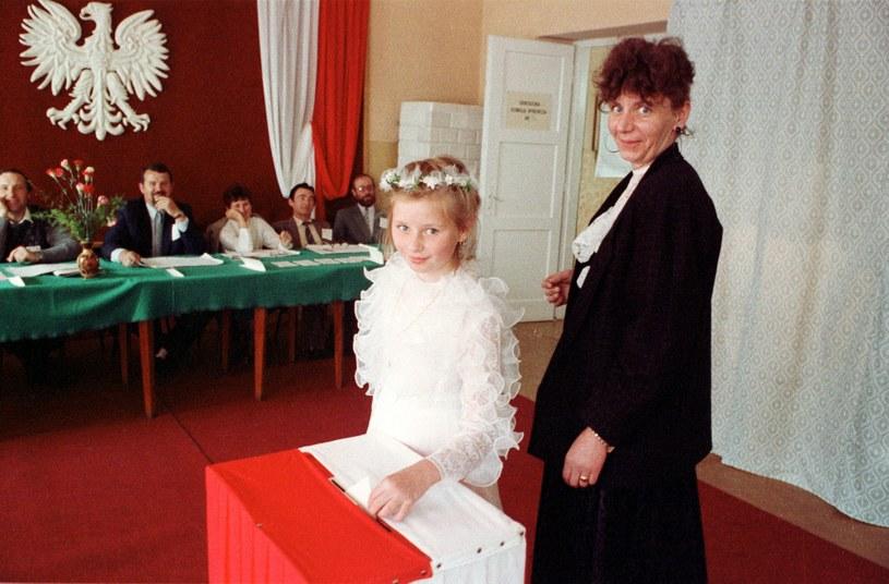 Wybory do Sejmu i Senatu, 4 czerwca 1989 r. /Chris Niedenthal /Agencja FORUM