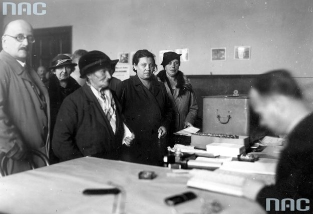 Wybory do Sejmu w 1935 roku w Krakowie /Z archiwum Narodowego Archiwum Cyfrowego