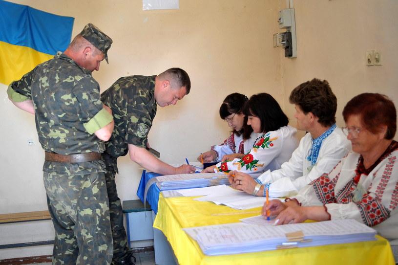 Wybory na Ukrainie /PAP/EPA
