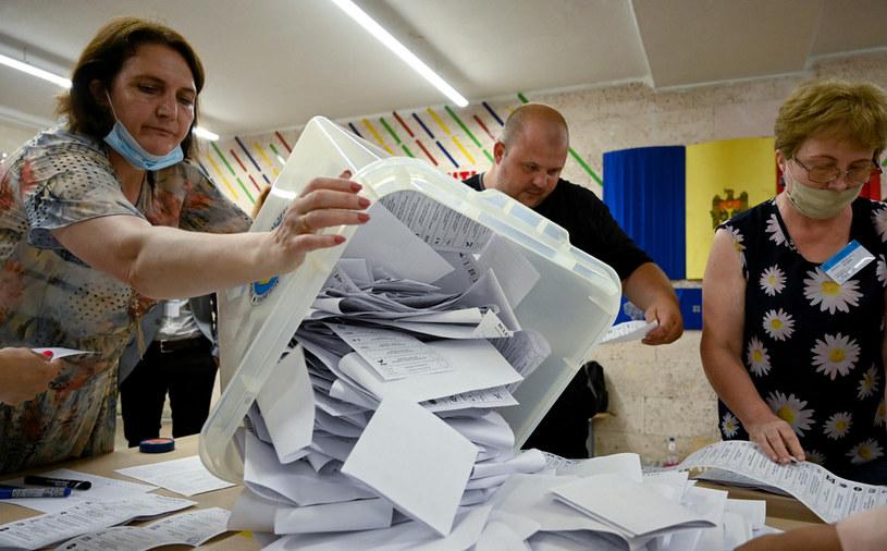 Wybory parlamentarne w Mołdawii /SERGEI GAPON /AFP