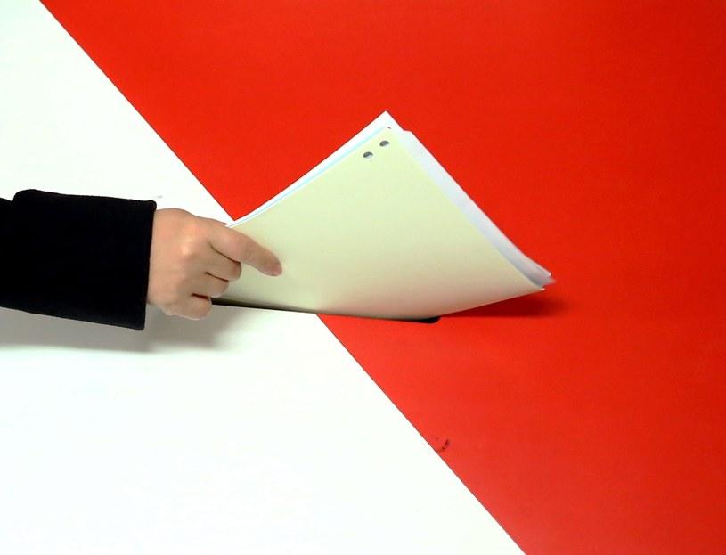 Wybory pełne emocji /Tomasz Gzell /PAP